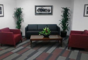 Indoor Plant Rental Rancho Cucamonga California reception area