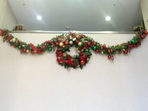 Riverside County Wreath and Garland as part of Holiday Decoration Services with Plants