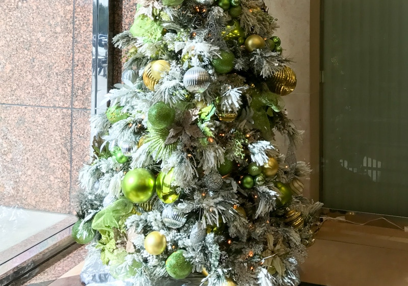 Moreno Valley Custom Christmas Tree by Inside Plants