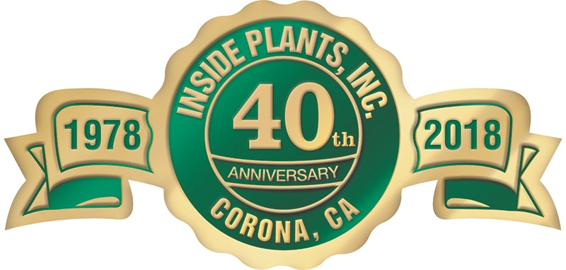 We are celebrating our 40th Anniversary at Inside Plants Inc.