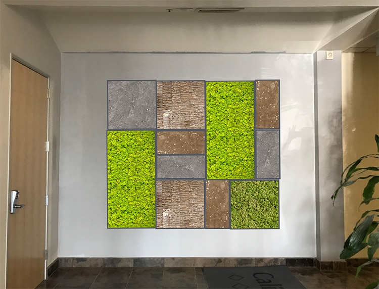Interior Design Furniture Inc San Bernardino ~ Living and moss walls for commercial residential