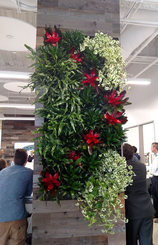 Living Green Wall is Living Wall Art