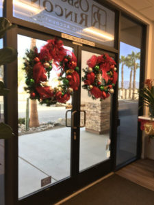 Holiday Plant Decorations Riverside County and San Bernardino County