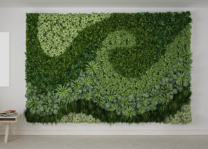 Palm Springs Indoor Plant Design Trend Living Wall